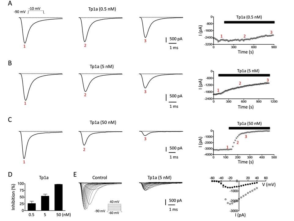 ProTx-III bioassay results Nav1.7 blocker